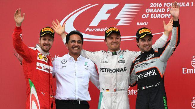 Nico Rosberg hace historia al ser el primer vencedor en Baku