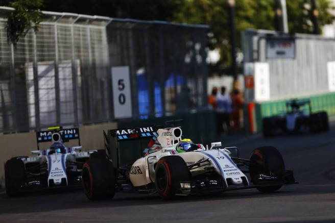 No fue un buen día para los WIlliams, especialmente para Massa