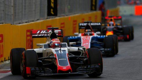 Grosjean lo intentó todo pero Haas tampoco estuvo hoy a la altura