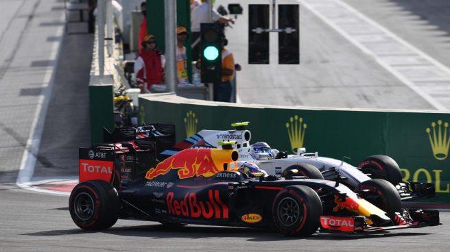 Día gris para Red Bull en Baku