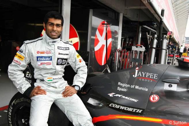 Karun Chandhok, nuevo piloto de la división histórica de Williams