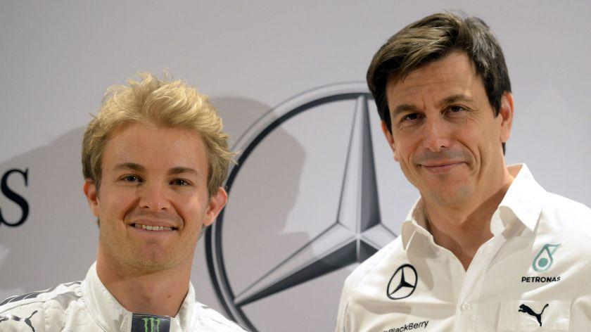 La renovación de Rosberg por Mercedes, paralizada a cuenta de la duración del contrato