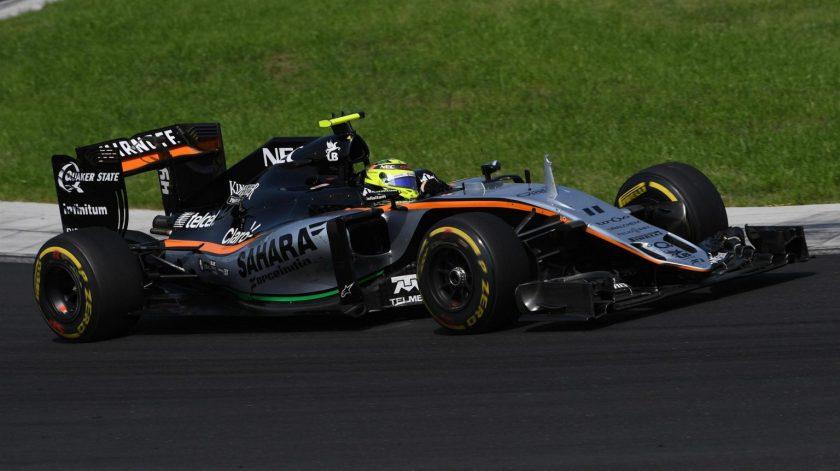 "Mal día hoy para ""Checo"" Pérez y Force India"