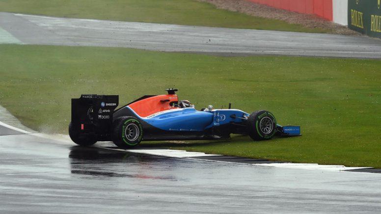 Pascal Wehrlein tuvo que abandonar a causa de una salida de pista