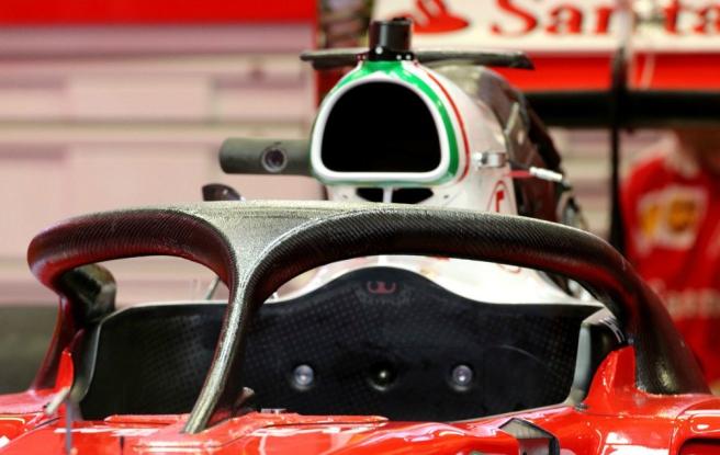 Ferrari probó una segunda versión del HALO en Austria