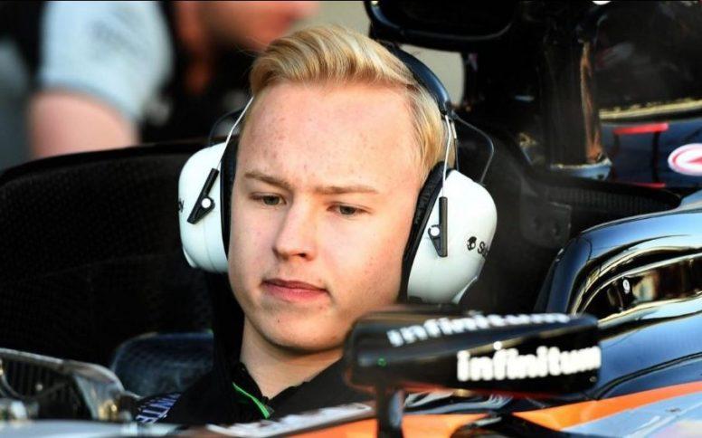 El ruso Nikita Mazepin probará el Force India en los test de Silverstone