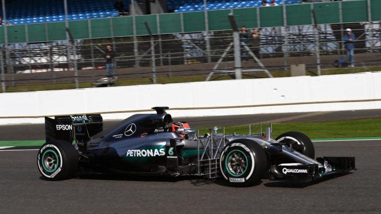 Esteban Ocon repitió con Mercedes, marcando el segundo mejor tiempo