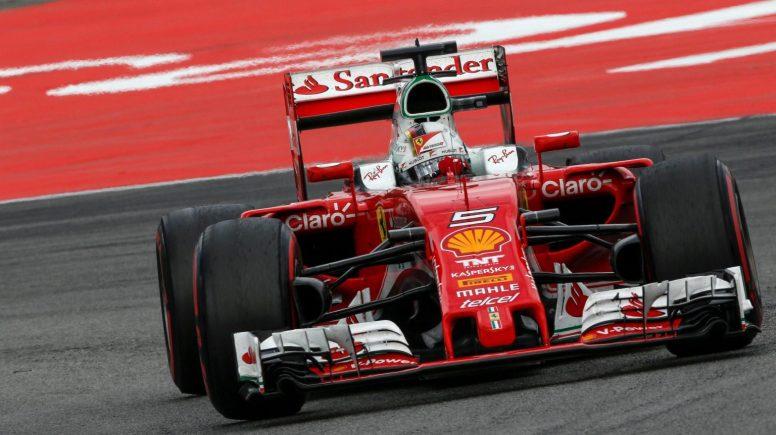 Sebastian Vettel, el mejor de unos cada vez más decepcionantes Ferrari