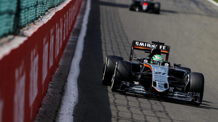 Nico Hulkenberg ofreció en Spa su mejor versión de la temporada