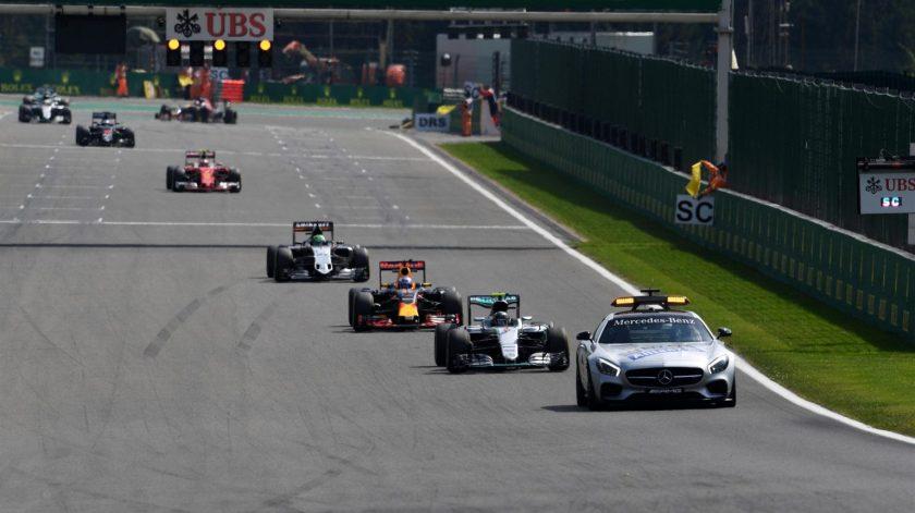 El Safety Car volvió a tener presencia en Spa tras el accidente de Magnussen