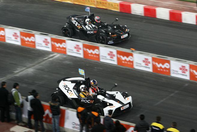 Mattias Ekstrom contra Mick Doohan en la ROC 2009