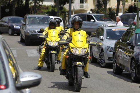 La Suzuki V-Strom 650, de nuevo Moto Oficial de la Vuelta a España