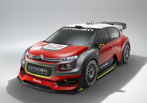 Citroën Concept C3 WRC: Máxima adrenalina