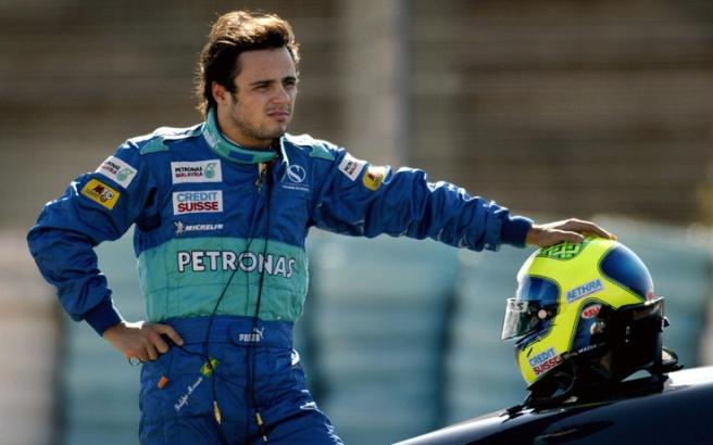 Sauber Formula one Italian driver Gianca