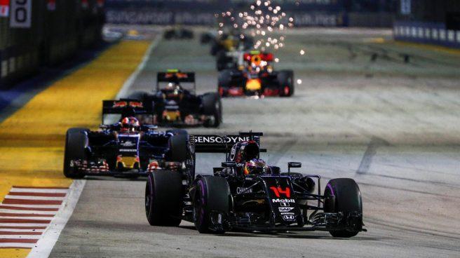 Fernando Alonso, de nuevo en los puntos