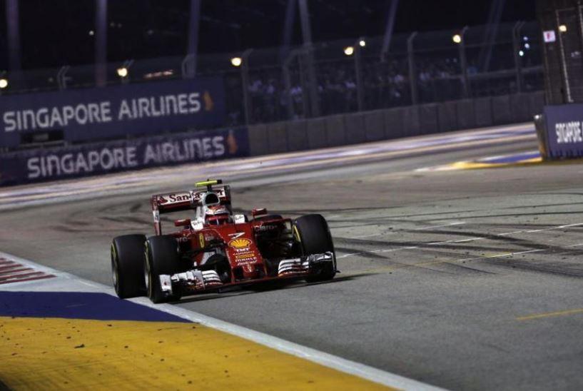 Una desastrosa estrategia en Ferrari deja sin podio a Raikkönen