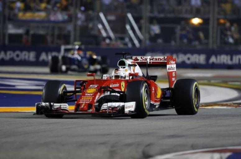 Espectacular remontada de Sebastian Vettel desde la última a la 5ª plaza