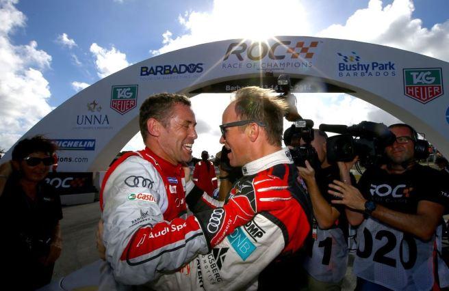 Tom Kristensen y Petter Solberg, ganadores de la Copa de Naciones de la ROC 2014