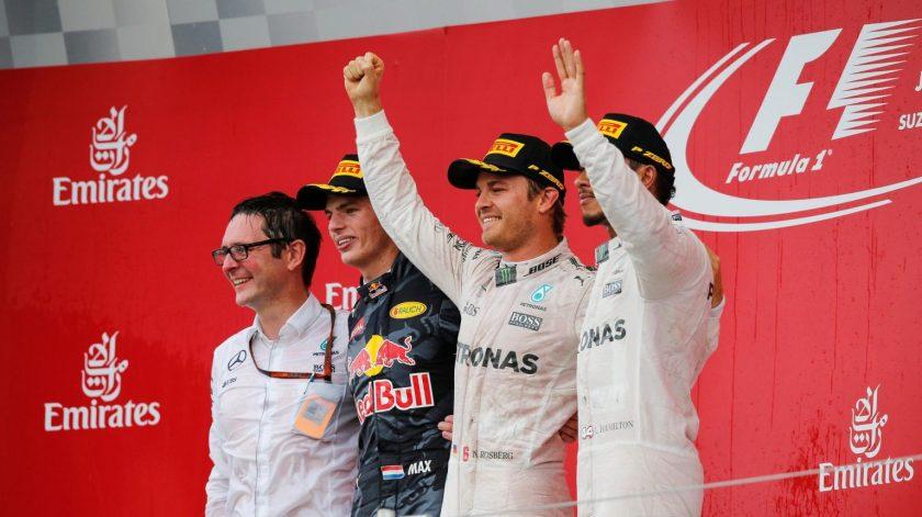 Nico Rosberg camina con paso firme a su primer título