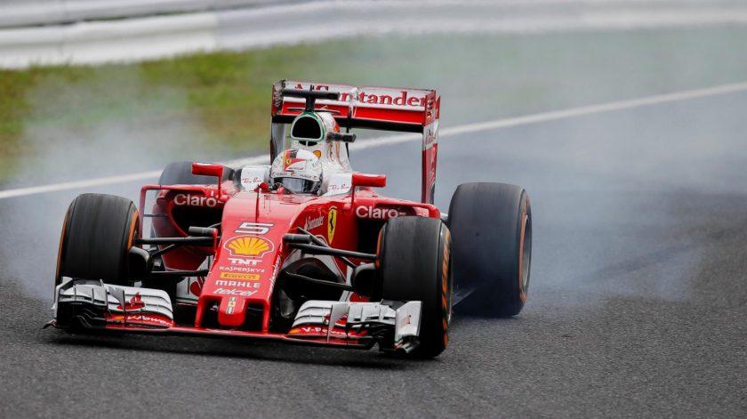 La estrategia vuelve a dejar a Ferrari sin pódium