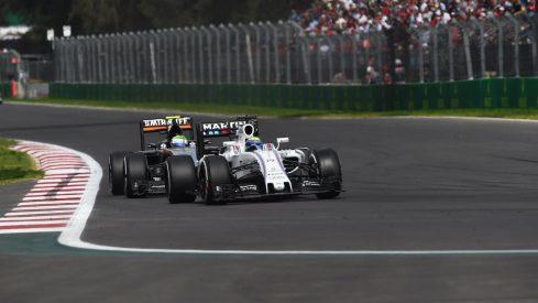 Felipe Massa le aguó la fiesta al héroe local, Sergio Pérez