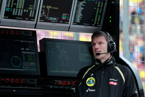 James Allison, en su última etapa en Lotus