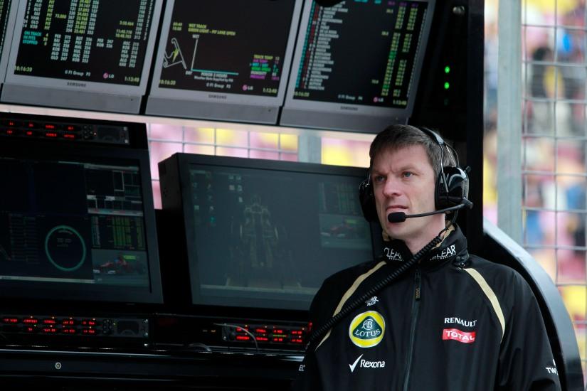 James Allison, en su última etapa en Lotus