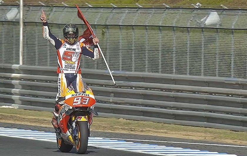 Marc Márquez, campeón del mundo de MotoGP por tercera vez