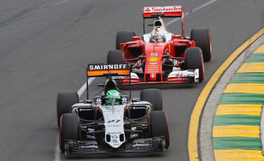 Nico Hulkenberg, durante el pasado GP de Australia