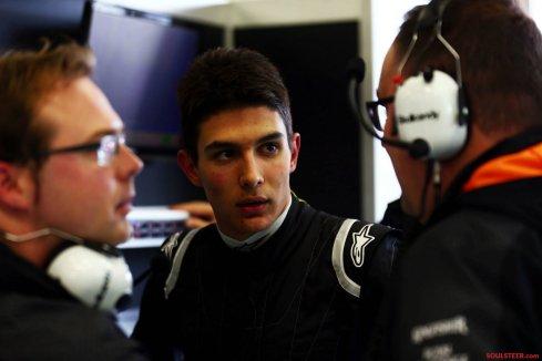 Esteban Ocon, principal candidato a sustituir a Nico Hulkenberg en Force India para 2017