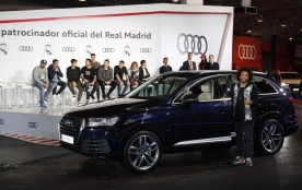 El brasileño Marcelo optó por un Audi Q7