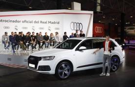 El alemán Toni Kroos y su flamante Audi Q7