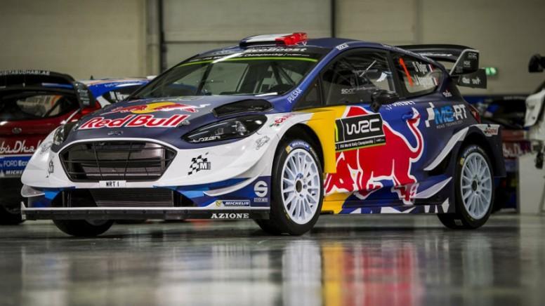 Así luce el nuevo Ford Fiesta WRC de Sébastien Ogier para 2017