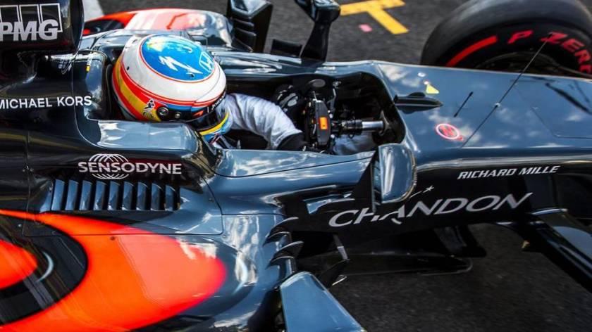 McLaren sigue buscando un sponsor principal para el próximo año