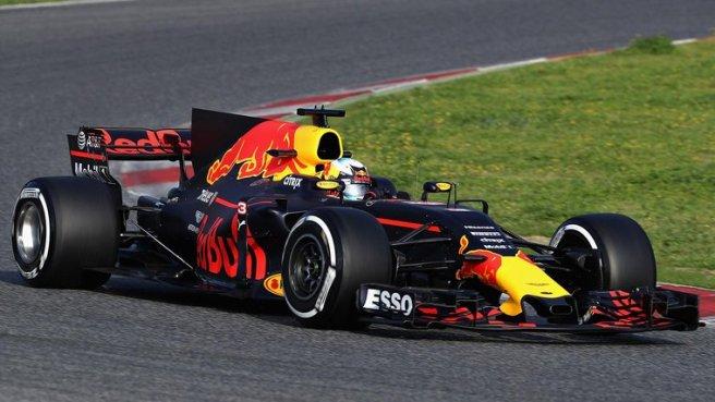 Gran día para Max Verstappen y su Red Bull RB13