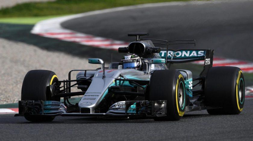 Valtteri Bottas sigue con su adaptación al Mercedes W08