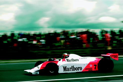McLaren MP4/1, el coche que inauguró la nomenclatura MP4