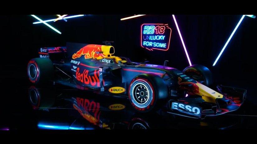Llega el nuevo Red Bull RB13, la alternativa más fiable a Mercedes