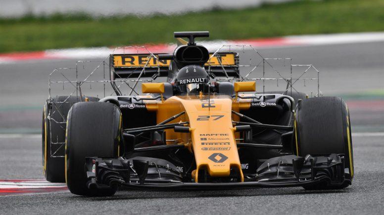 Nico Hulkenberg, cada vez más acoplado a su nuevo Renault