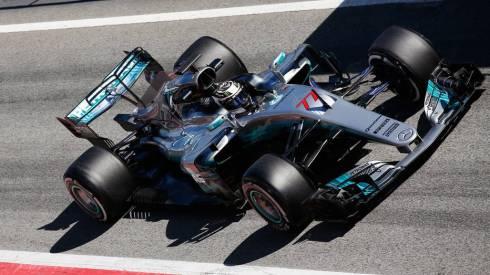 Valtteri Bottas, cada vez más a gusto en su Mercedes