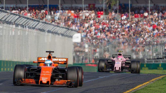 Mal día para Fernando Alonso y McLaren en Australia