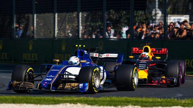 El italiano Antonio Giovinazzi apuntó grandes maneras en su debut con Sauber