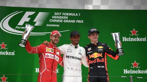 Lewis Hamilton, de vuelta a lo más alto del cajón