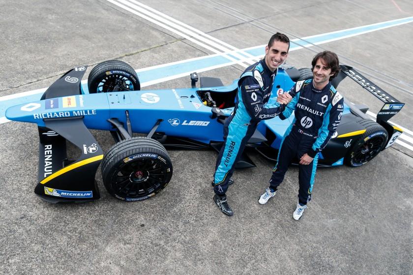 Sebastien Buemi y Nico Prost renuevan una temporada más con Renault e.Dams