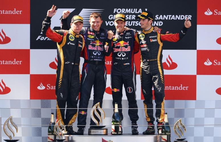 Sebastian Vettel, el último ganador de un Gran Premio en Nurburgring