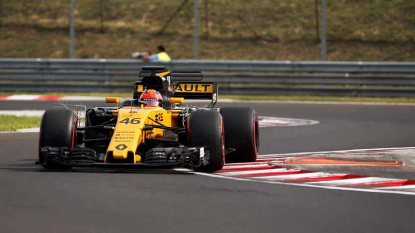 Espectacular actuación de Robert Kubica a bordo del Renault RS17 en Hungría