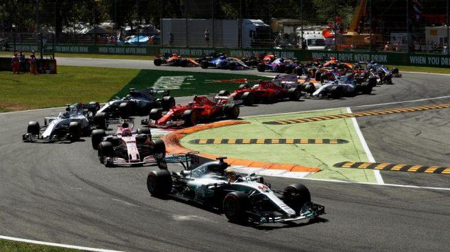 Hamilton, dominador de principio a fin en Monza