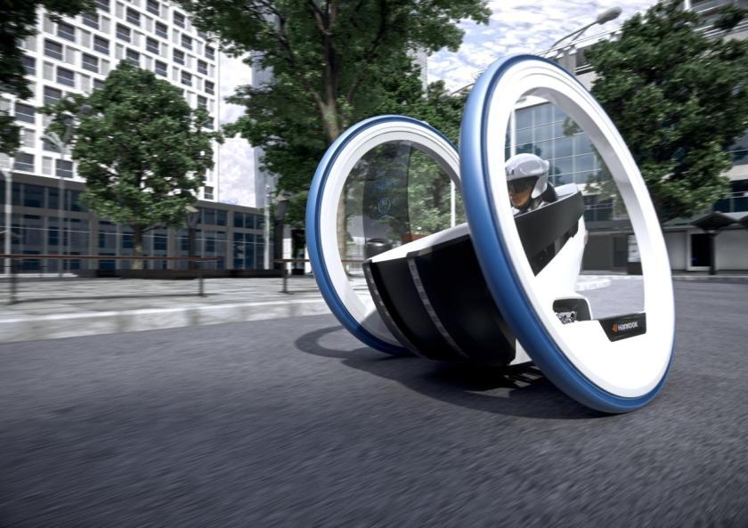 Flexup, el concepto de biciclo para la movilidad urbana según