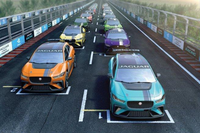 Así será la parrilla de salida de la nueva Jaguar i-Pace eTrophy