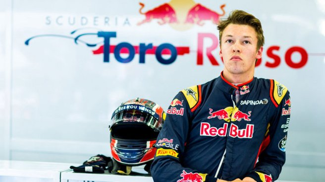 Kvyat Vuelve a Toro Rosso apenas dos semanas de su relevo por Gasly